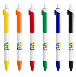 Długopis reklamowy Forte Solid White