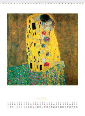 RA03 - Gustav Klimt - kalendarium