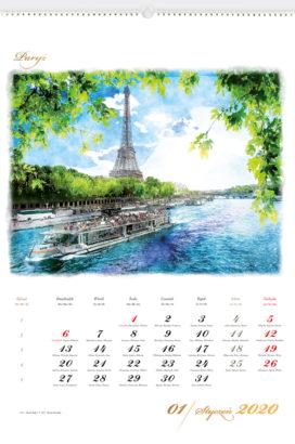 RW16 - Stolice Europy - kalendarium