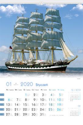 RW23 - Zaglowce swiata - kalendarium