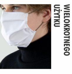 maski ochronne wielokrotnego użytku