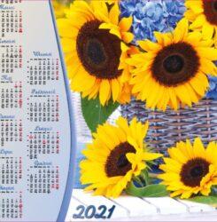 ikona kalendarz plakatowy A1 Bukiet