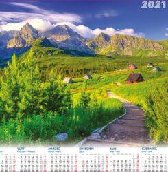 ikona kalendarz plakatowy Hala Gąsienicowa