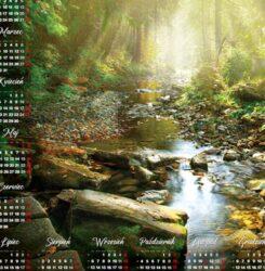 ikona kalendarz plakatowy poranek