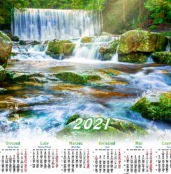 ikona kalendarz plakatowy wodospad w karpaczu