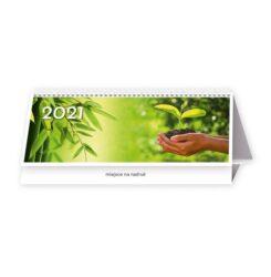 kalendarz biurowy natura