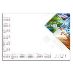 kalendarz blokowy 4 pory roku