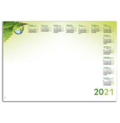 kalendarz blokowy krople