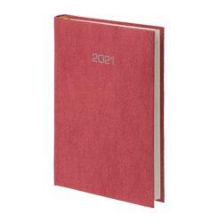 kalendarz książkowy A4 bordo
