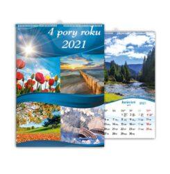 kalendarz wieloplanszowy 4 pory roku