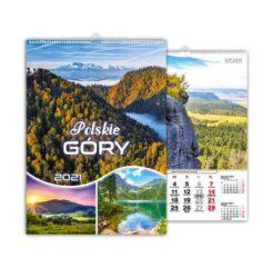 kalendarz wieloplanszowy Polskie góry