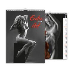 kalendarz wieloplanszowy erotic art