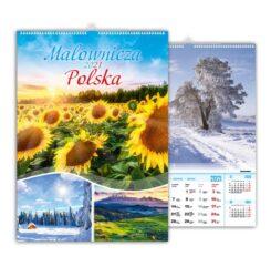 kalendarz wieloplanszowy malownicza polska