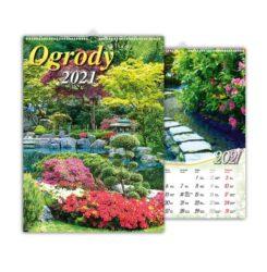 kalendarz wieloplanszowy ogrody