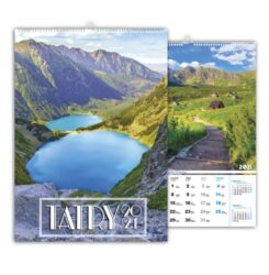 kalendarz wieloplanszowy tatry