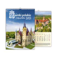kalendarz wieloplanszowy zamki polskie